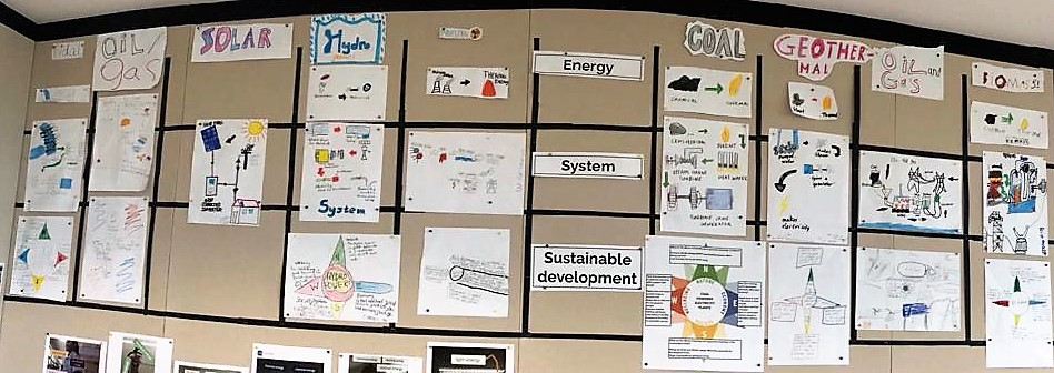 students using systems thinking to understand science and service: energy transfer and electricity